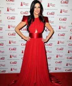 TV personality Patti Stanger attends the Heart Truth's