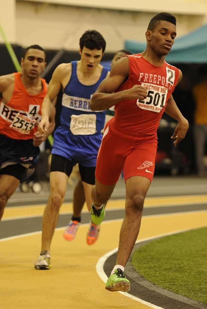 Freeport's Jonathan Greenwood took first place in 1:22.46