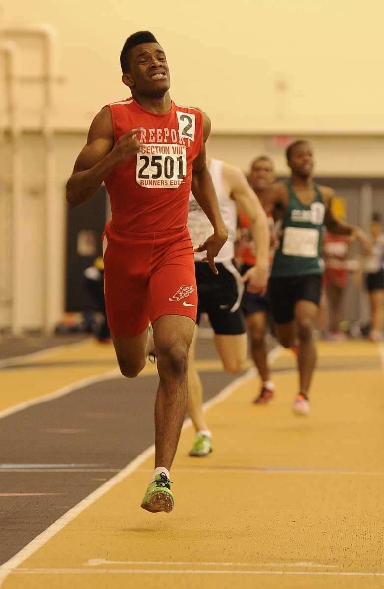 Freeport's Johnathan Greenwood took first place in 1:22.46