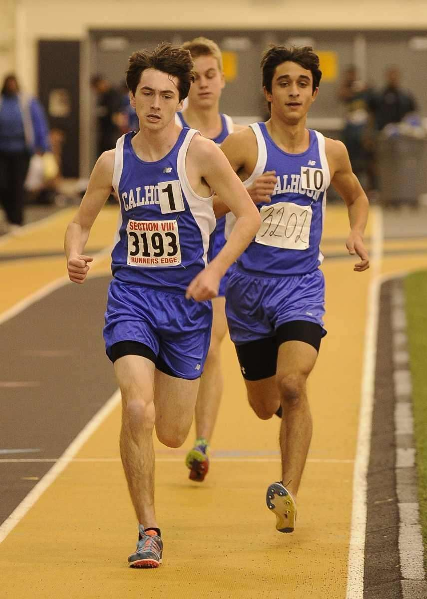 Calhoun's Jack Curran placed first in 9:51.55 and