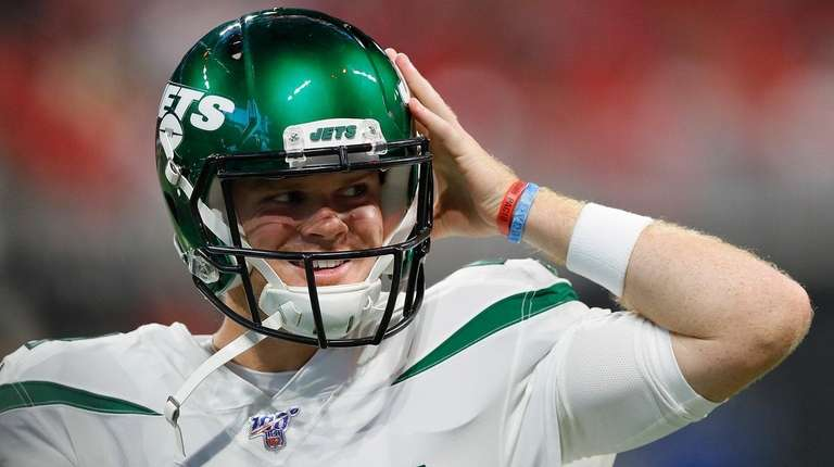 Sam Darnold is adjusting well to the Jets' new fast-paced offense