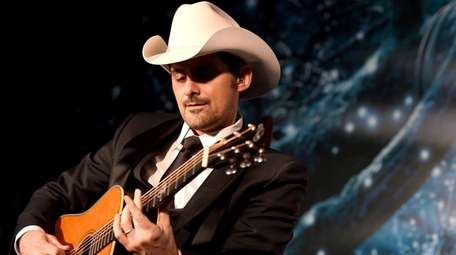 Brad Paisley is in concert on Aug. 30