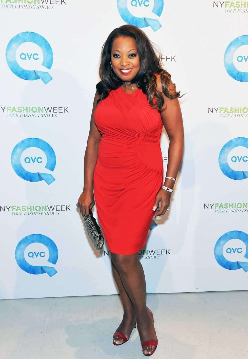TV personality Star Jones attends QVC's New York