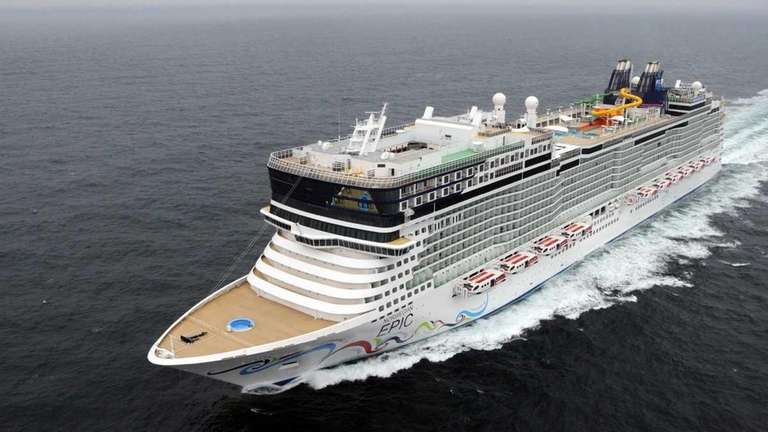 The new Norwegian EPIC cruiseliner will debut July