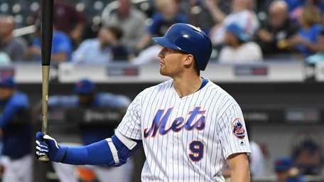 Brandon Nimmo, shown here against Miami on May