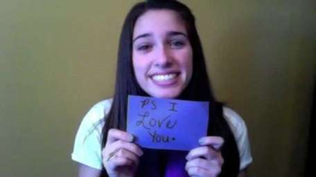 West Islip's Brook DiPalma, 15, reached out to