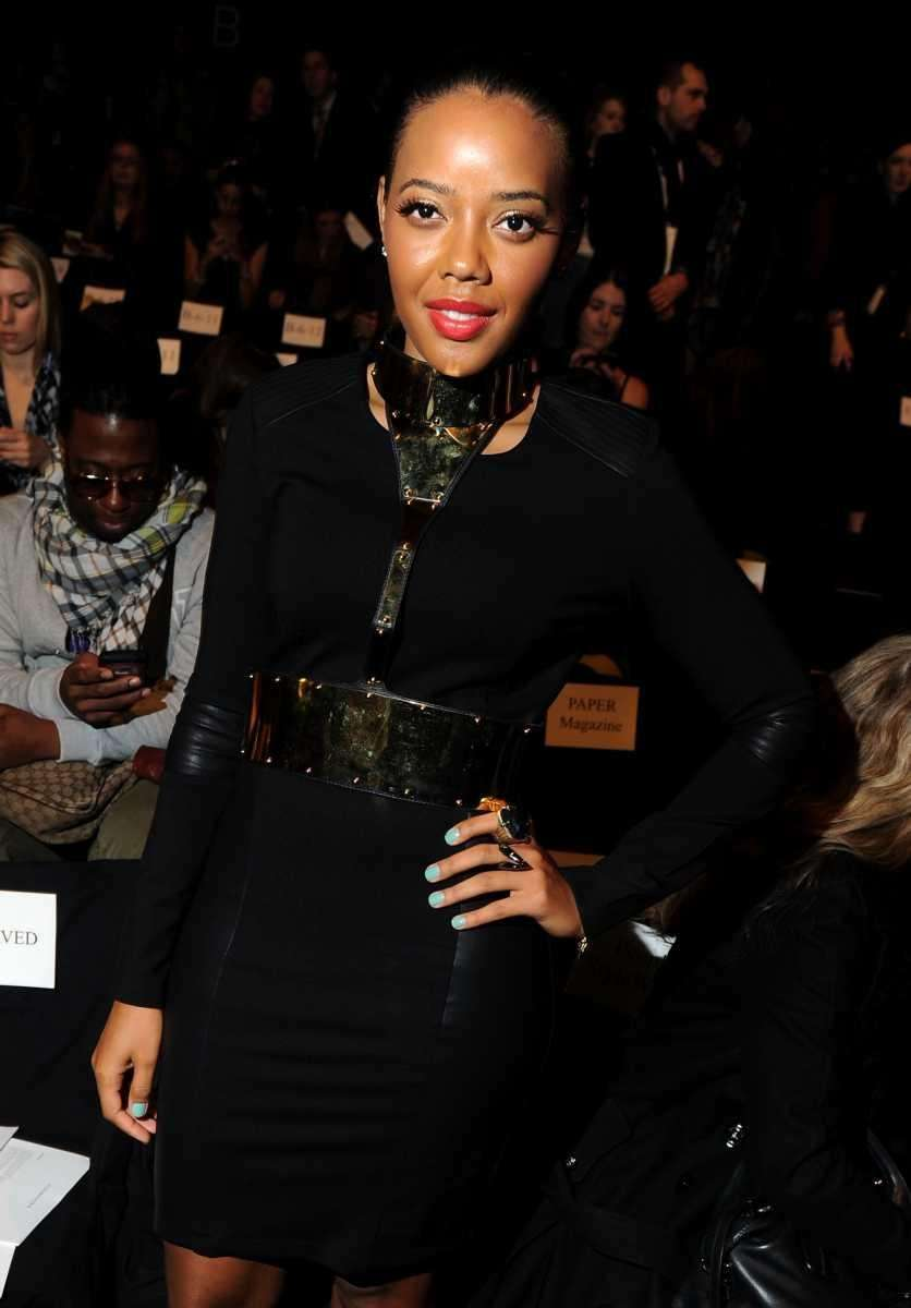Angela Simmons attends the BCBG Max Azria Fall