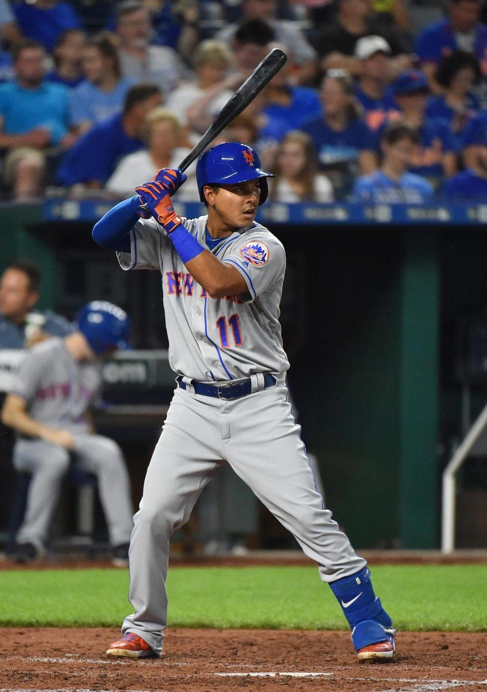 Ruben Tejada #11 of the New York Mets
