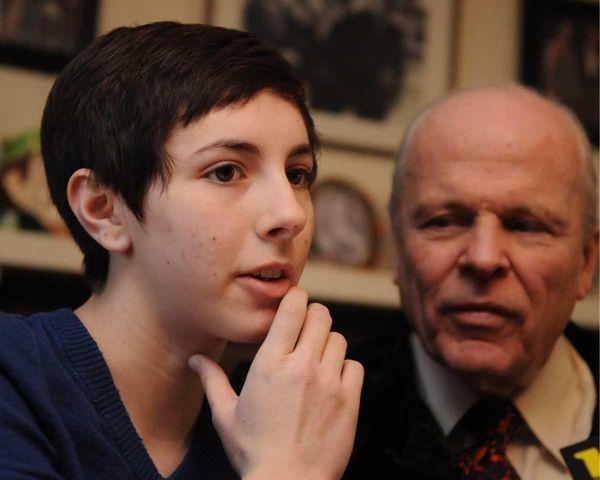 Miranda Malone, 16, daughter of victim Jaime Taccetta,