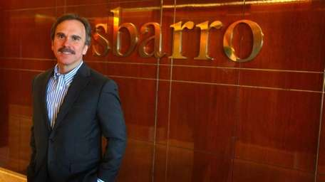 James Greco, who took the helm of Sbarro