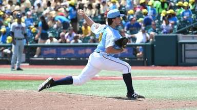 Brooklyn Cyclones pitcher Kevin Smith (31) during game