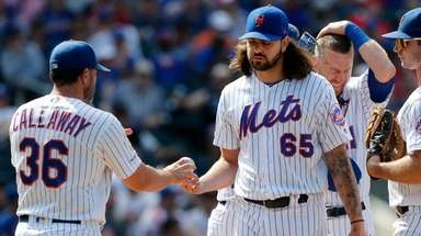 Robert Gsellman last pitched on Sunday, Aug. 11,