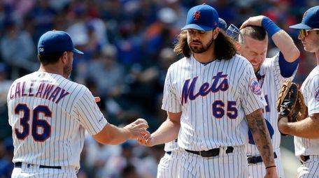 Robert Gsellman last pitched on Sunday, Aug. 11,