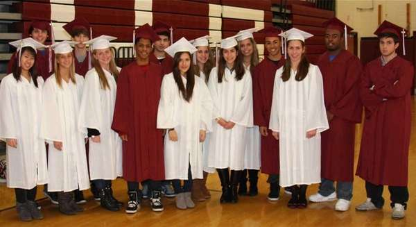Students from Walt Whitman High School in South