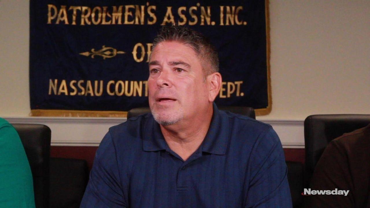 Nassau PBA president James McDermott on Wednesday in