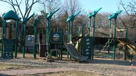 A new playground was installed last fall at