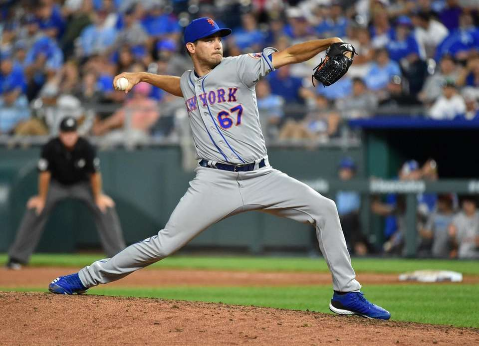 Relief pitcher Seth Lugo #67 of the New