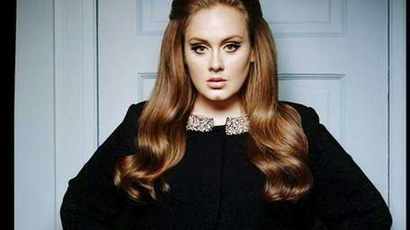Singer-songwriter Adele poses for a publicity photo in