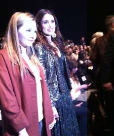 Abigail Breslin and Nikki Reed pose for photos