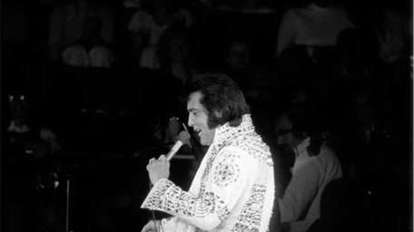 June 24, 1973 Elvis Presley rocks the Coliseum.