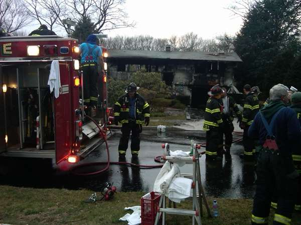 A Commack house fire claimed the life of