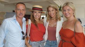 Hugo Campbell-Davys, Myra Magaletta, Sarah Gargano and Aretta