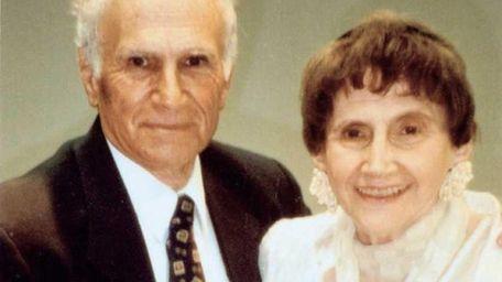 Troim and Frank Handler celebrate their 65th wedding