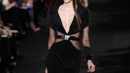 A models walks the runway at the Prabal