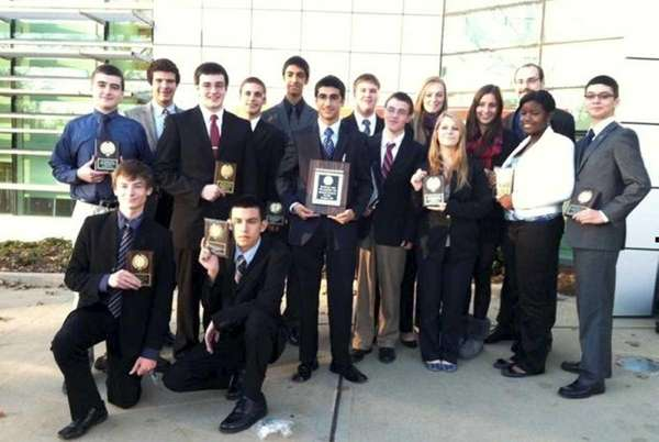 Glen Cove High School's team took top honors