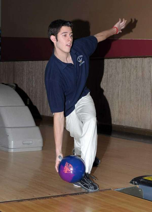 Plainview JFK's Matthew Farber. (Feb. 11, 2012)