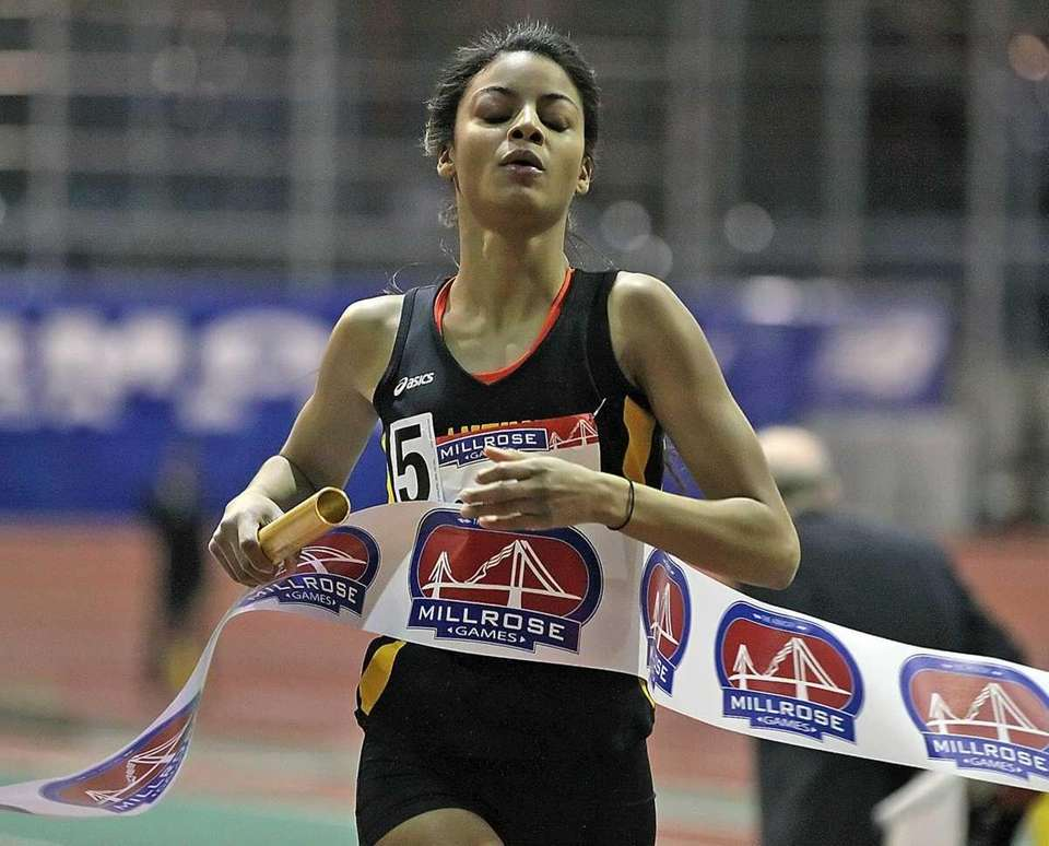 For the first time, The Millrose Games were