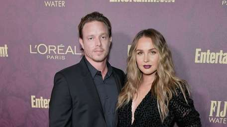 Matthew Alan and Camilla Luddington attend the 2018