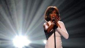 Singer Whitney Houston 48, died Feb. 11, 2012.