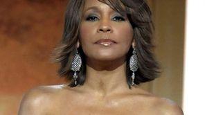 This file photo shows singer Whitney Houston at