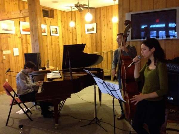Vadim Neselovsky Trio performing at Clovis Point Wines