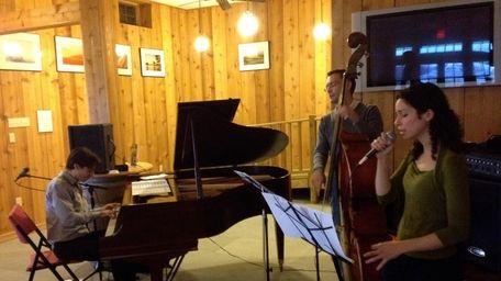 Vadim Neselovsky Trio performing at Clovis Point Wines