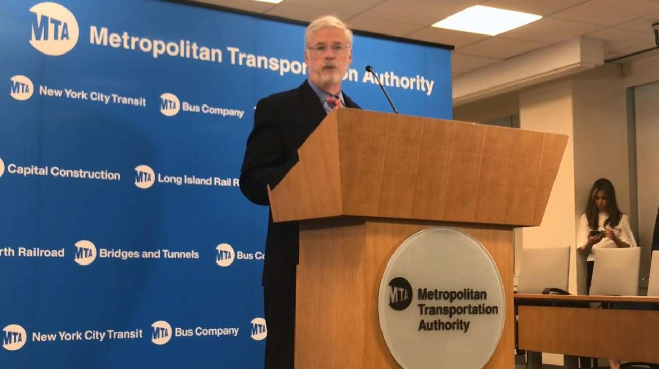 MTA chairman Patrick Foye on Friday discussed the