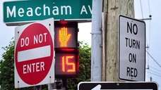 Photo of some of the traffic signs and