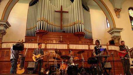 The Chris P. Cauley Collective performed at Music