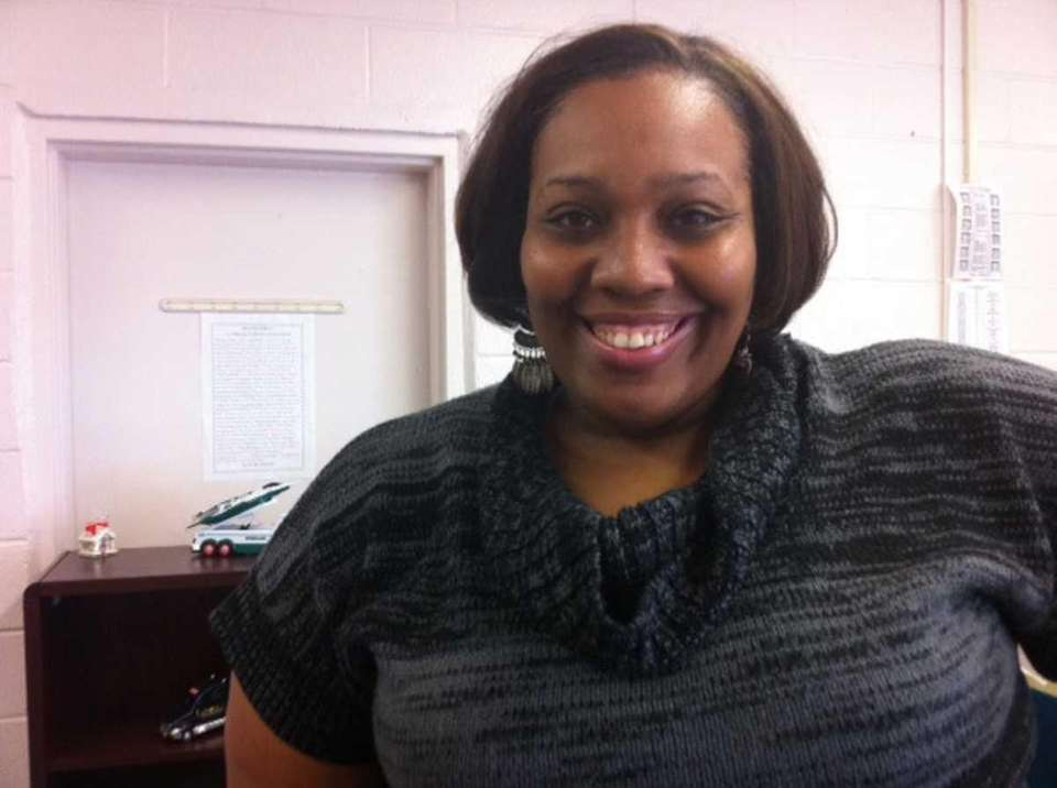 Candis Tolliver, who works for the New York