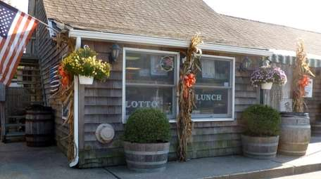 Brent's General Store in East Hampton.