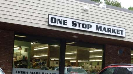 One Stop Market in East Hampton.