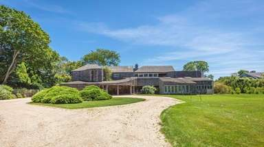 This East Hampton home is listed for $8.950