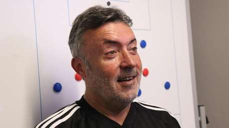 New York City FC head coach Domenec Torrent