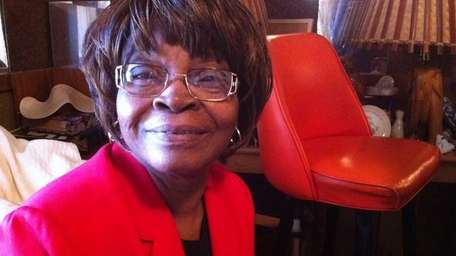 Pecolia Bostic, 68, has lived in Wyandanch for