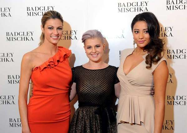 From left, Erin Andrews, Kelly Osbourne and actress