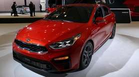 The Kia Forte at the New York International