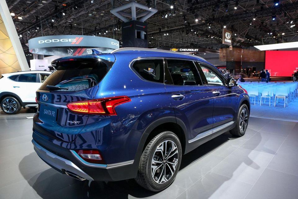 The Hyundai Santa Fe at the New York