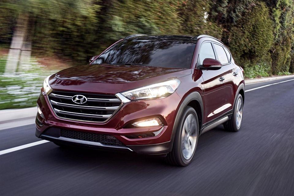 The 2016 Hyundai Tucson sees a slight style