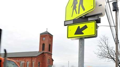 Rev. Msgr. Michael Flynn appealed for a traffic